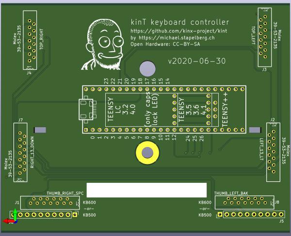 kinT keyboard controller